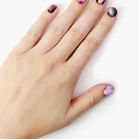 Stephanie's Galaxy Nail Wrap