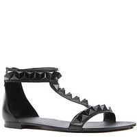 Ash Shoes Sandal Mosaic Black Studs in Black