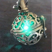 Amazon.com: Steampunk FIRE necklace - pendant charm locket jewelry-GREAT little GIFT: Everything Else