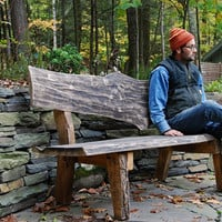 West Ohayo Mountain Bench Outdoor Furniture by grayworksdesign