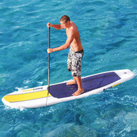 The Ku Hoe He&#x27;e Nalu Inflatable Board - Hammacher Schlemmer