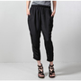 elastic pant black - sale - women Oak