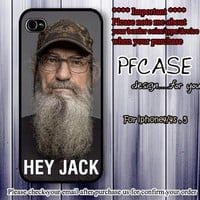 Hey Jack! Si robertson Style : Case For Iphone 4/4s ,5 /Samsung S2,3,4