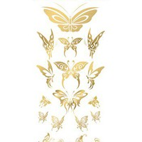 Gold Body Art 'Butterflies' Temporary Tattoos | Nordstrom