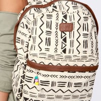 Billabong Secret Dreamin&#x27; Cream Tribal Print Backpack