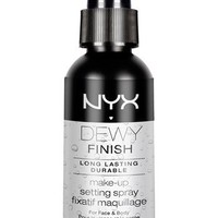 NYX 'Dewy Finish' Makeup Setting Spray | Nordstrom
