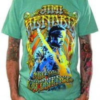 Jimi Hendrix, T-Shirt, Experienced