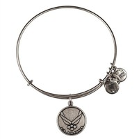 Alex and Ani U.S Air Force Charm Bangle