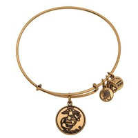 Alex and Ani U.S. Marine Corps Charm Bangle
