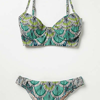 Anthropologie - Mara Hoffman Feathers Bikini Top