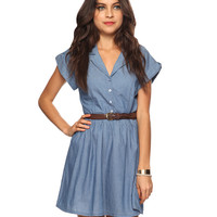 Casual Chambray Dress | FOREVER21 