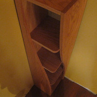Corner Shelf with a Twist