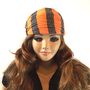 Striped Headwrap TANGERINE GRAY Striped Headband Jersey hairband Head Scarf Turban Headband Summer Women fashion Hair Accessories