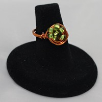 Updated Peridot Galaxy Ring