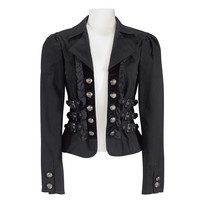 Steampunk Buckle Jacket                            - New Age, Spiritual Gifts, Yoga, Wicca, Gothic, Reiki, Celtic, Crystal, Tarot at Pyramid Collection
