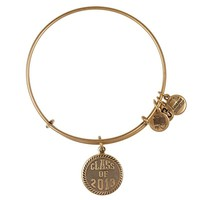 Alex and Ani Class Of 2013 Charm Bangle - Russian Gold