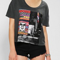 OBEY Woodside Cropped Tee