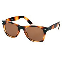 River Island Brown - Print Sg Istanbul Wayfurther Tort Sunglasses at asos.com