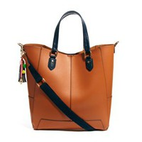 Paul's Boutique Stella Leather Tote Bag at asos.com