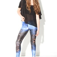 Galaxy Blue Leggings