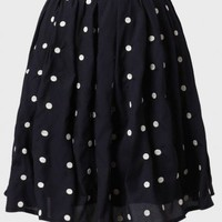 Deborah Polka Dot Skirt at ShopRuche.com