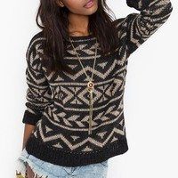 Sleep In Knit  in  Clothes at Nasty Gal