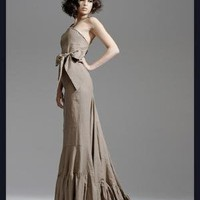 Natural Gala Gown by Anomal on Sense of Fashion