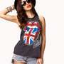 Rolling Stones Muscle Tee