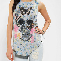 DOE Skull Sketch Muscle Tee