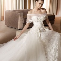 Cheap Pronovias Wedding Dresses - Style Minerva - Only USD $386.40