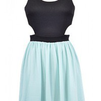 The Mint Cut Out Summer Dress