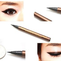 #5279 Black Waterproof Precision Liquid Eyeliner Smudge Proof Makeup Pencil Eye Liner:Amazon:Beauty