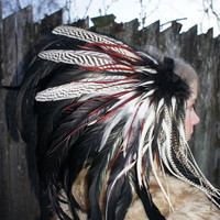Feather Headdress Osaka Sun Feather Headdress by RoosterBaby22