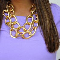 All Gold Everything Necklace | Hope's