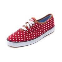 Womens Keds Champion Dot Casual Shoe, Red, at Journeys Shoes