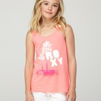 Girls 7-14 Summer Sizzle Racerback Tank - Roxy