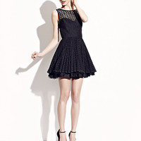 BetseyJohnson.com - LOW CUT BACK PARTY DRESS BLACK