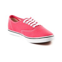 Vans Authentic Lo Pro Skate Shoe, Pink White, at Journeys Shoes