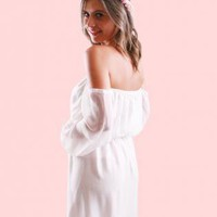 Daydream Believer Dress White