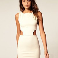 ASOS | ASOS Body-Conscious Dress with Cut Out Sides at ASOS