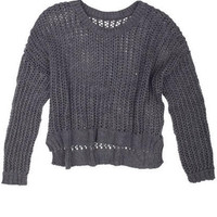 Open Hi Lo Sweater