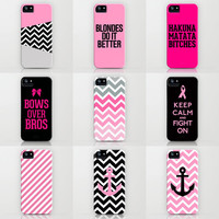Pink iPhone Cases by RexLambo