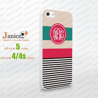 iphone 4 case -iphone 5 case,colorful line design monogrammed iphone cases 4 ,iphone cases 5 W00154