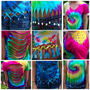 Custom Tie Dye Top from beehipster
