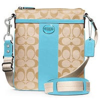 COACH LEGACY SIGNATURE SWINGPACK - Handbags &amp; Accessories - Macy&#x27;s
