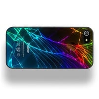 Cracked Out Black iPhone 5 Case by ZERO GRAVITY by ShopZeroGravity