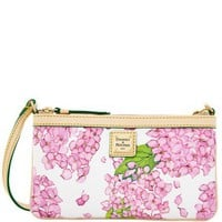 Dooney & Bourke Hydrangea Large Slim Wristlet