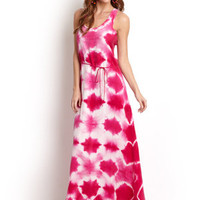 C&C CALIFORNIA Mirage Tie Waist Maxi