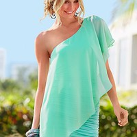 Mint One shoulder dress from VENUS