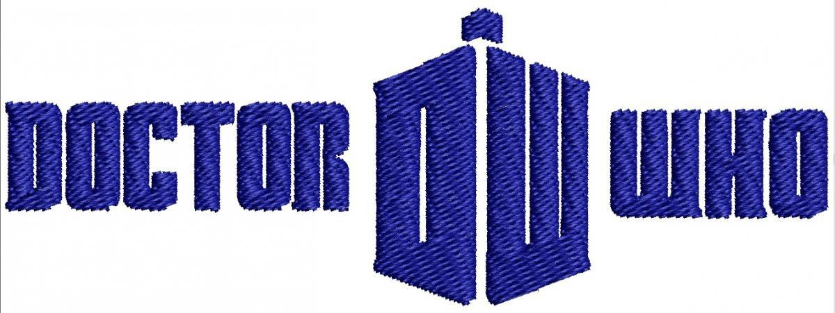 dr who machine embroidery designs